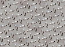 Diamond Metal Plate Texture Stock Photo