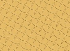 Free Diamond Metal Plate Texture Royalty Free Stock Photography - 5741237