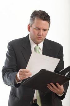 Free Businessman Working Stock Photo - 5741600