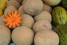 Free Melons Royalty Free Stock Photography - 5741997