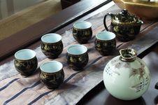 Free Tea Set Royalty Free Stock Image - 5742486