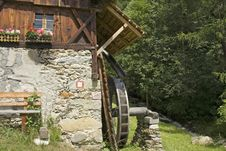 Free Detail Of Old Tyrolean Watermill Royalty Free Stock Photo - 5742615