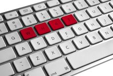 Free What Keyboard Stock Photos - 5743823
