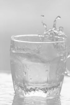 Free Glass Of Water Background 06 Stock Photo - 5744230