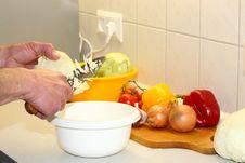 Free Vegetables For Dinner. Stock Image - 5744521