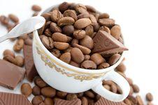 Free Coffee And Chocolate Stock Photography - 5745162
