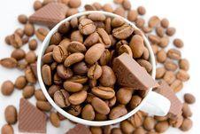 Free Coffee And Chocolate Royalty Free Stock Photo - 5745165