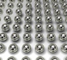 Free Silver Balls_02 Stock Photos - 5745473