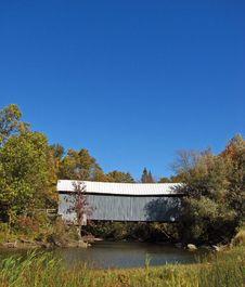 Eustis Covered Bridge 1 Stock Image