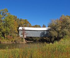 Eustis Covered Bridge 2 Royalty Free Stock Photography