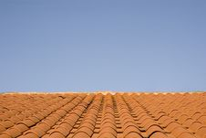 Free Red Tiles And Blue Sky Stock Photo - 5745950
