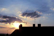 Free Urban Sunrise Stock Image - 5746211