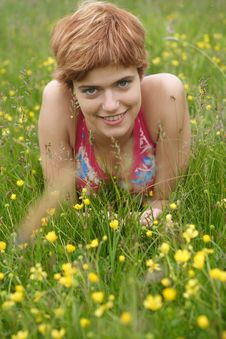 Free Young Woman Smiles Stock Photography - 5746692