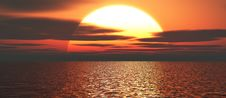 Free Beautiful Sunset Stock Images - 5746834