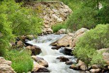 Free Rocky Mountain Stream Stock Image - 5747181