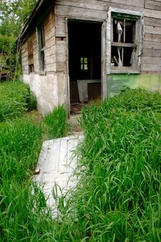 Free Abandoned House Entrance Stock Photo - 5747930