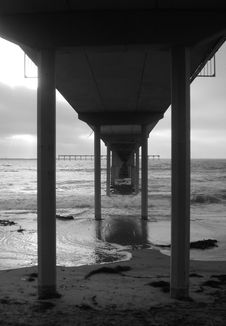 Free Under The Pier Stock Photography - 5748242