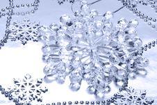 Free Crystal Snowflake Stock Photography - 5748622