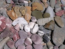 Rainbow Stones Royalty Free Stock Photo