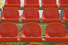 Red Seats. Stock Image