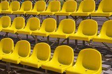 Free Yellow Seats. Royalty Free Stock Photo - 5749095