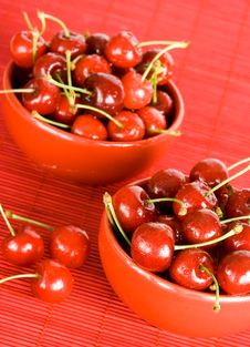 Free Fresh Cherry In Bowl Royalty Free Stock Photo - 5749285