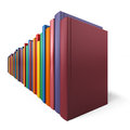 Free Color Books In Line Stock Image - 57455541