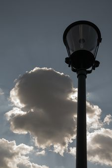 Free Street Lamp Royalty Free Stock Images - 57487409