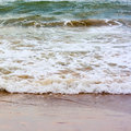 Free Sea Wave And Sand Stock Photos - 5751863