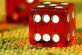 Free Red Dice To Play, Play Dice. Stock Photo - 5753850
