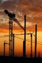 Free Tower Crane Stock Photography - 5756402