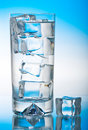 Free Iced Glass Of Cool Water Stock Photo - 5756630
