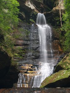 Free Waterfall Royalty Free Stock Photography - 5750707
