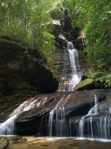 Free Waterfall Royalty Free Stock Photo - 5750745
