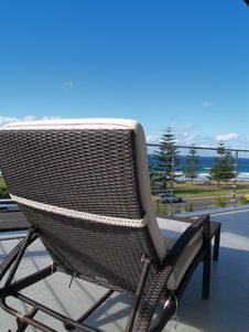 Free Chair On Balcony Royalty Free Stock Image - 5751126