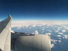 Free View Form Plane Royalty Free Stock Photo - 5751305