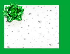 Free Gift Letter On Holidays Stock Photo - 5751540