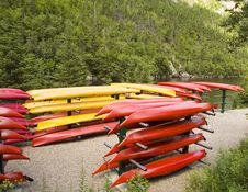 Free Kayaks Stock Photos - 5751543