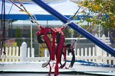 Free Trampoline Harness Royalty Free Stock Photos - 5751698