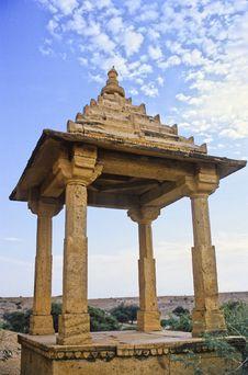 Jaisalmer Cenotaph Stock Photo