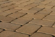 Free Brick Path Stock Photography - 5751882
