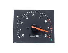 Free Auto Tachometer  Isolated On White Stock Photos - 5751953