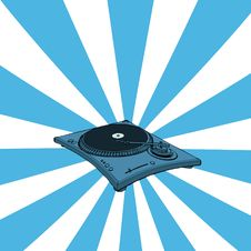Free Turntable Royalty Free Stock Image - 5752466