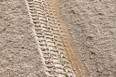 Free Tire Track 1 Stock Photos - 5752623