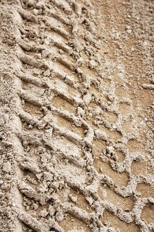 Free Tire Track 2 Stock Images - 5752654