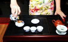 Free Chinese Tea Preparation Royalty Free Stock Images - 5753129