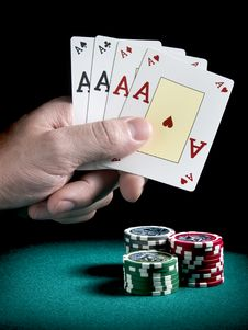 Free Four Aces Stock Photos - 5753333