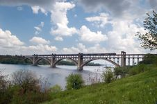Free Bridge In Clouds Stock Images - 5753444