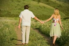 Free Summer Walk Royalty Free Stock Images - 5754739