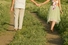 Free Summer Walk Royalty Free Stock Images - 5754749